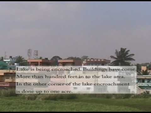 pollution and encroachment of yelahanka lake, Bangalore