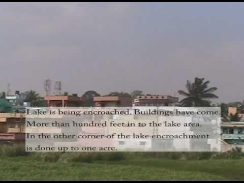 pollution and encroachment of yelahanka lake, Bangalore