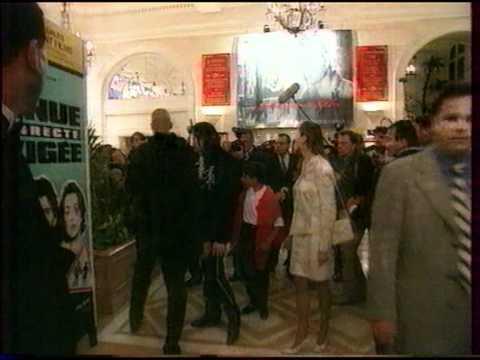 Michael Jackson - Cannes Premiere, Ghosts  1997 NEWS