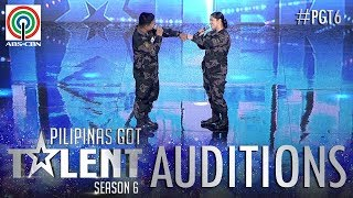 Pilipinas Got Talent 2018 Auditions: PO2 Robert Abella Jr. & PO2 Jackylou De Dios Palacio - Sing