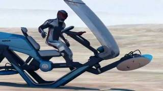 """RIDON"" Hoverbike 3D Animation"