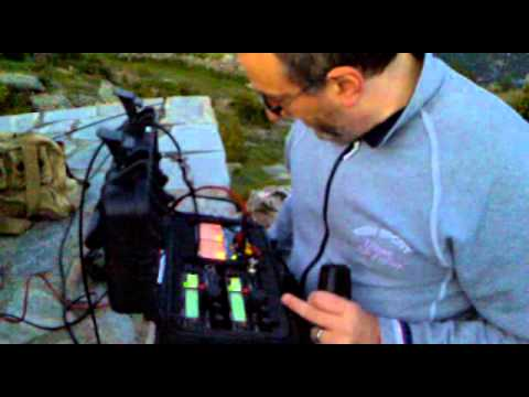 VHF QSO between Italy's zones X1 and 2