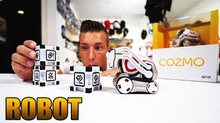 Der coolste & intelligenteste Roboter der Welt? Anki Cozmo Robot Unboxing - Review - Test [Deutsch]