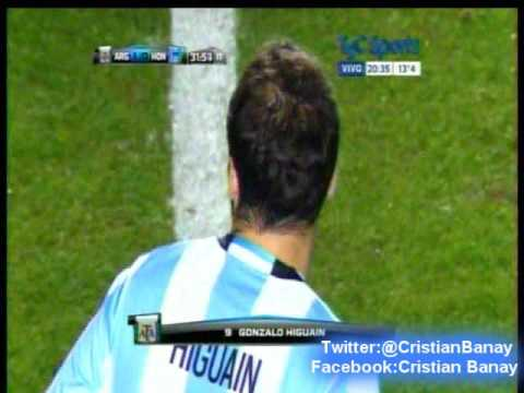 Argentina 1 Honduras 0 (La Voz San Juan)   Amistoso Internacional 2016
