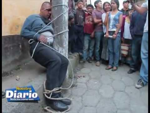 Cuatro asaltantes se salvan de morir linchados en Tactic, Alta Verapaz