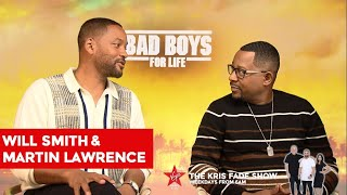 Will Smith & Martin Lawrence Talk To The Kris Fade Show