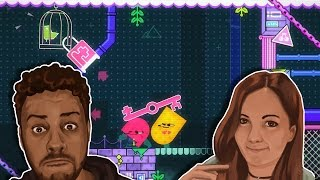 Nintendo Switch Snipperclips Funny Moments w/ My Wife!