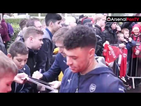 Goal Scorer Alex Oxlade-Chamberlain Happy After Win  | Bournemouth 0 Arsenal 2