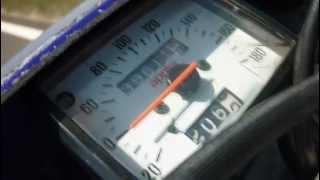 Aprilia Rx 125 acceleration to 120 km/h