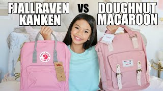 Fjallraven Kanken vs Doughnut Macaroon Backpack
