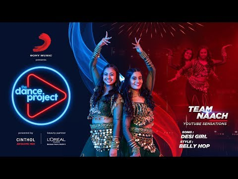 Desi Girl - Belly dance Hip hop mix | Team Naach | Belly Hop | The Dance Project
