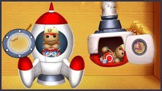 Buddy Space Rocket Jet Pack  VS The Buddy Kick The Buddy Gameplay