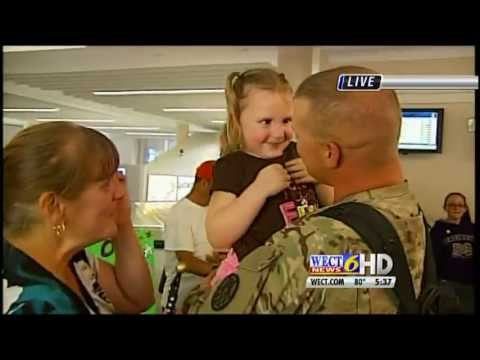 Soldier returns from Afghanistan to find his wife 100 pounds lighter!