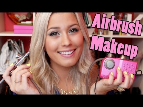 Dinair Airbrush Makeup Review/Demo