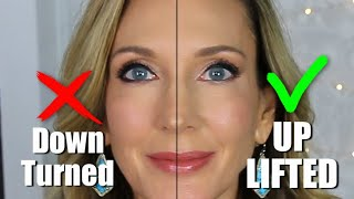 """Eyeliner Do's & Don'ts To """"Lift"""" Mature Eyes! Mistakes to Avoid"""