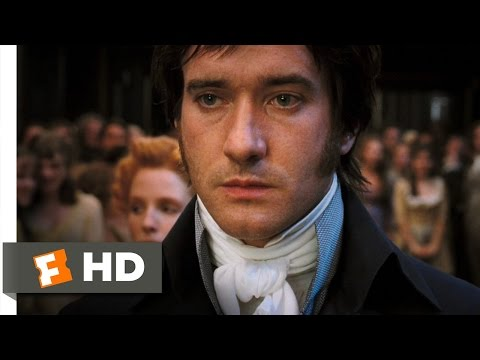 Pride & Prejudice (210) Movie CLIP - Miserable Mr. Darcy (2005...