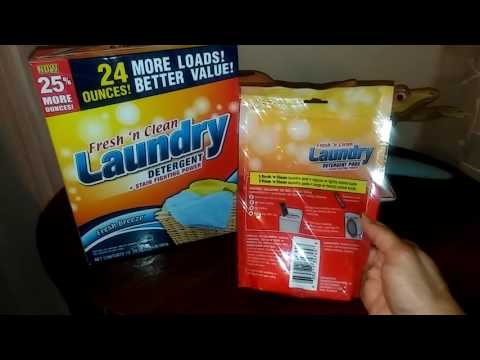 Dollar Tree Fresh 'n Clean Laundry Pods