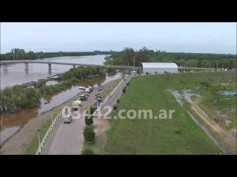 MANCHA fuel oil en rio uruguay