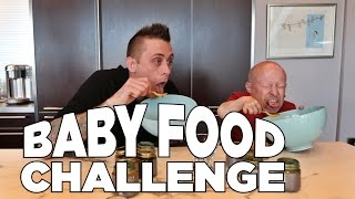 Baby Food Challenge with Roman Atwood and Verne Troyer