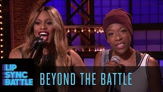 Beyond the Battle with Laverne Cox and Samira Wiley | Lip Sync Battle