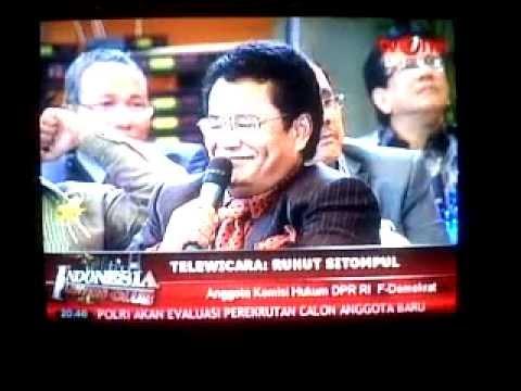 Ruhut Sitompul vs Hotman Paris Hutapea Live on TVOne.3GP