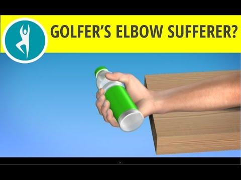 Golfers Elbow Exercise