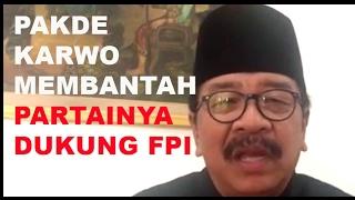 Ketua Demokrat Jatim, Soekarwo Bantah Partainya Dukung FPI dan Siap Hadang PDIP