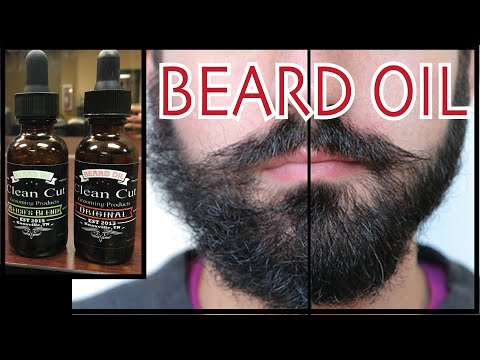 CLEAN CUT BEARD OIL Product Review | Healthy More Stylish Beard | Mens Grooming