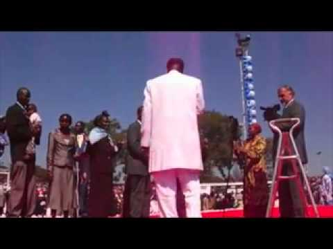 THE SHEKINAH GLORY DESCENDS ON THE PROPHET OF THE LORD-Dr. Owuor