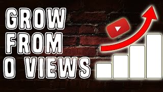 How To Grow Your YouTube Channel From 0 Views and Subscribers!