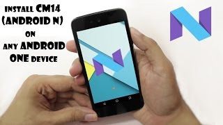Install Android 7.0 Nougat on Android One!  [Root]
