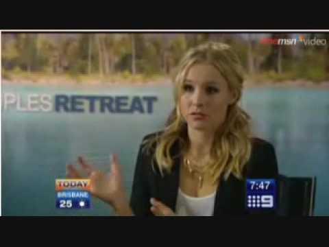 Kristen Bell Interview from Australia
