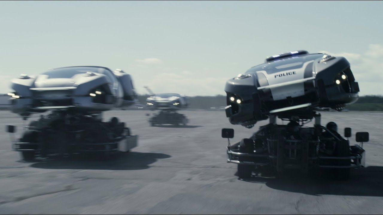 TOTAL RECALL: REAL HOVER CARS - YouTube