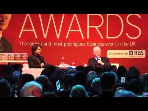 Bill Clinton Interview at The Scottish Business Awards