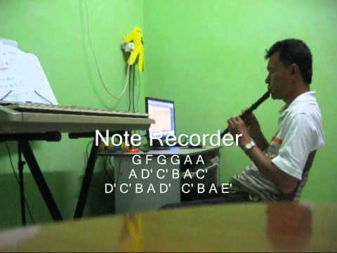 Recorder Sheet Music MeGaLoVania