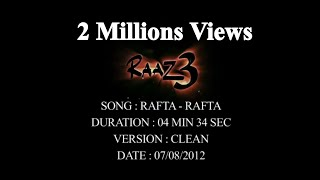 raaz3 - Rafta-Rafta Raaz 3 Full video song By Akhilesh Kumar.