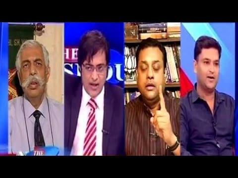 Major Gaurav Arya Questions Pakistan on Burhan Wani