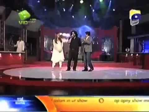 Hadiqa Kiani & Irfan Kiani (sahir Lodhi Show) video