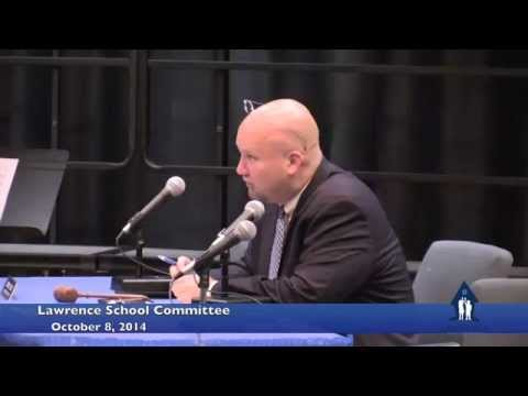 Lawrence School Committee 10-8-2014