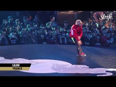 LILOU vs TAISUKE | STRIFE. | Red Bull BC One 2013 World Finals in Seoul