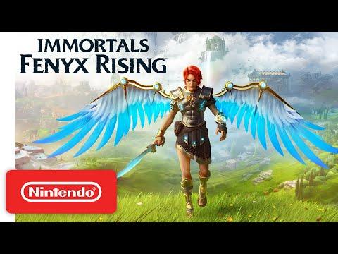 Immortals Fenyx Rising - Launch Trailer - Nintendo Switch