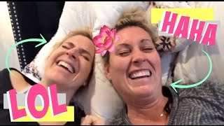 The Giggles & The Easiest Makeup Routine EVER | Cat & Nat Vlog 29
