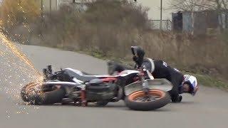 Hectic Road Bike Crashes & Motorcycle Mishaps 2017 [Ep.#21]