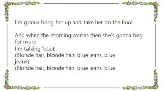 Watch Chris De Burgh Blonde Hair Blue Jeans video