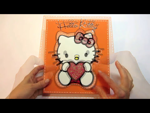 Tutorial: Hello Kitty de goma eva (foami, fomi).