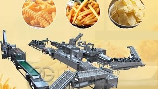Equipments For French Fries Business|Automatic French Fries Making Machine