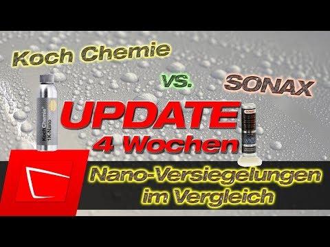 Koch Chemie 1K Nano vs. Sonax Nanoversiegelung im Test - Langzeittest Update nach 4 Wochen