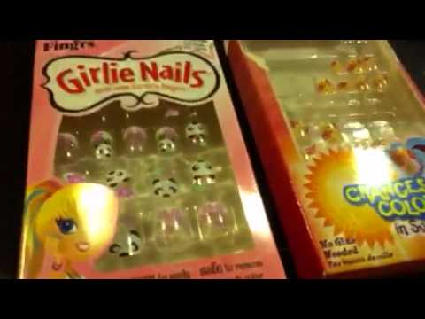 Fake nails review for kids