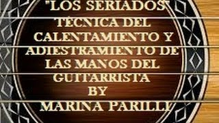 Los Seriados, Daily Classical Guitar Technique, I PART