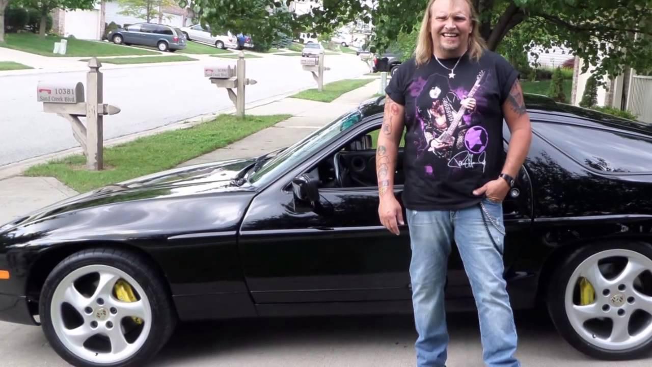 Paul Stanley of KISS' old 1988 Porsche 928 - YouTube